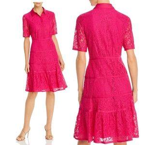 nanette Nanette Lepore Lace Shirt Dress